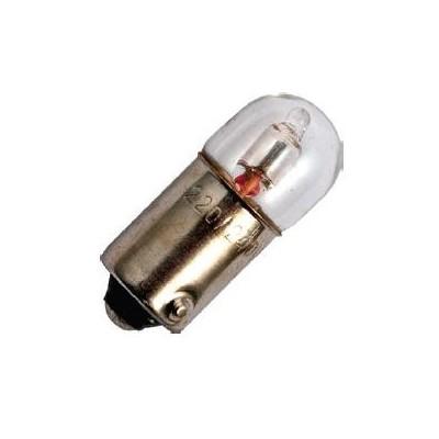 Ba9s patice T9x23 110/130V Neon sklo in žárovka
