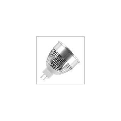 MR16 GU5.3 LED PMMA 50x62mm 12V 4W AC/DC 2700K 280Lm 38° 30Kh