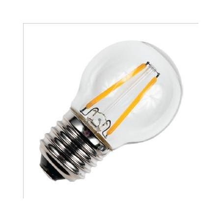 E27 závit Dekorativní koule G45x75mm 230v 1.5W AC 2500K 150Lm stmívatelná 15Kh