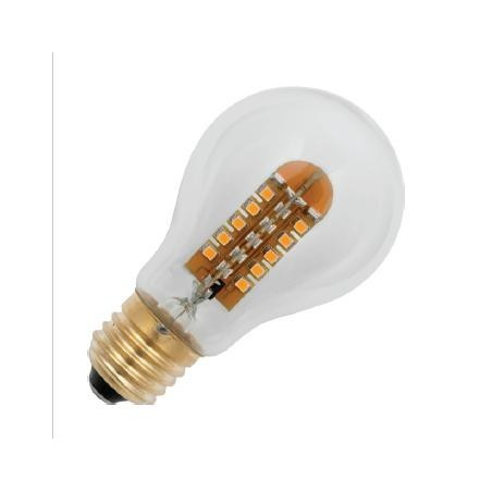 E27 závit COSY GLS 60x105mm 220-240v 2.8W AC 2200K 56x3528 MSD 140Lm stmívatelná 20Kh