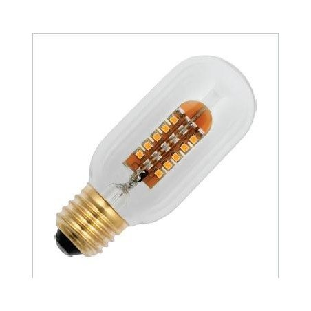 E27 závit COSY T45x108mm 220-240v 2.4W AC 2200K  48x3528 MSD 120Lm stmívatelná 20Kh