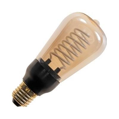 E27 závit CCFL ST58x1127 230V 5W 180Lm 2100K zlatá 15000h stmívatelná