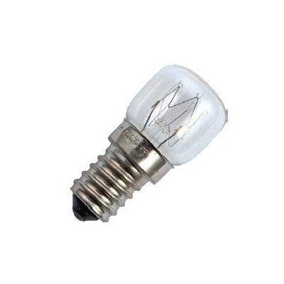 E14 závit P22x48 230V 25W 300C žárovka do trouby čirá