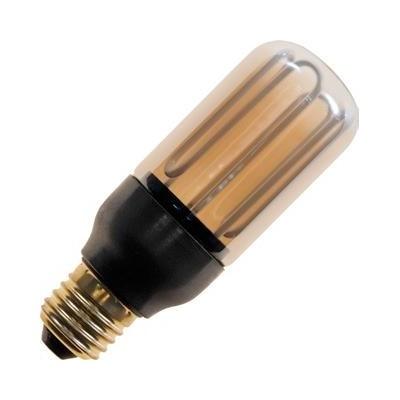 E27 závit CCFL T45x108 230V 7W 250Lm 2100K zlatá  15000h stmívatelná