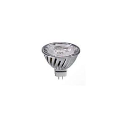 LED MR16 GU5,3 12V 4W 3x1LED 38° studená bílá