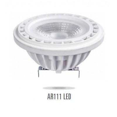 LED AR111 G53 12V 17W SMD3030 60° studená bílá