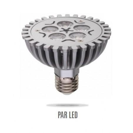LED PAR30 E27 230V 5W 5LED studená bílá DIM (stmívatelná)