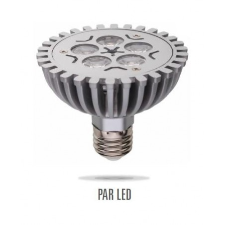 LED PAR30 E27 230V 5W 5LED teplá bílá DIM (stmívatelná)