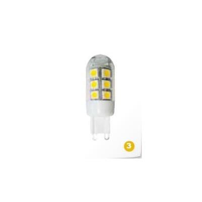 LED G9 230V 1,9W 1LED teplá bílá