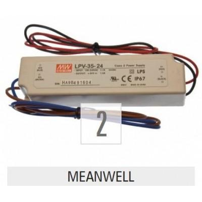 Napájecí zdroj s proudovým chráničem 700mA 6-25V 18W LPHC-18-700 700mA denní světlo