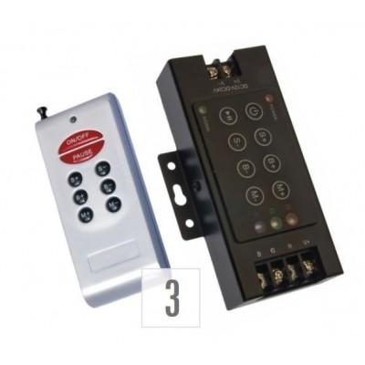 RGB ovladač RF8B dálkový – k LED pásku / for LED strips