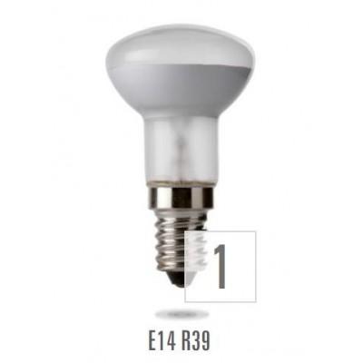 ZSR-39 E14  30W 230V  satin (zdroj není určen pro svícení v domácnosti)