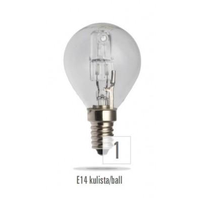 Klasické halogenové 230V 42W E27 svíčka