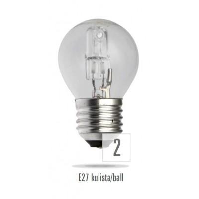 Klasické halogenové 230V 42W E27 koule