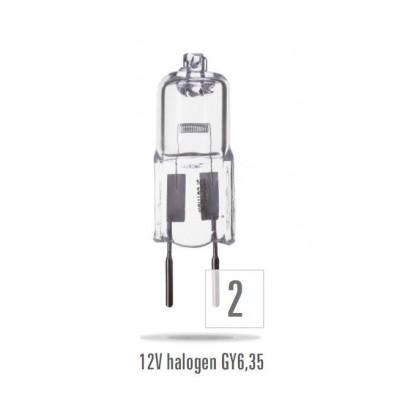 LH  24V/  50W GY6.35        čirá