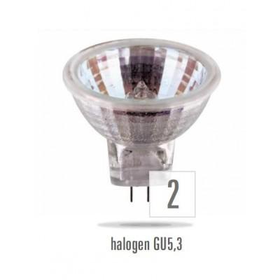 Halogenová bodovka 50W/230V MR16 GU5,3