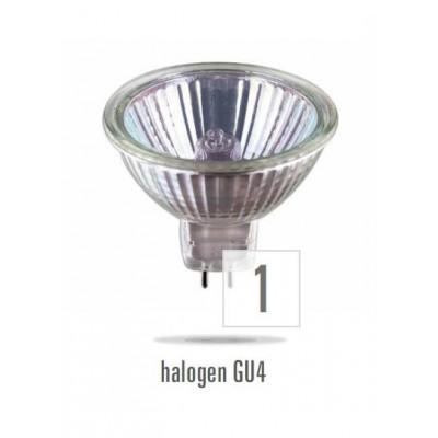Halogenová bodovka DICHROIC  20W/60 MR16 GU5,3