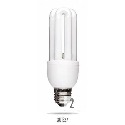 Úsporná žárovka 3U E27 15W 8000h