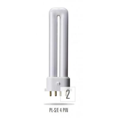 Kompaktní zářivka 9W/4P/830  PL-S