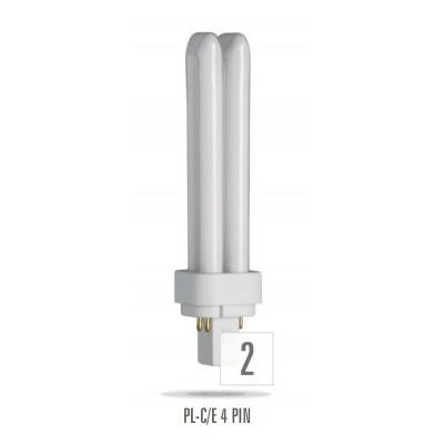 Kompaktní zářivka 18W/4P/830 PL-C/E