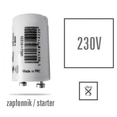 Startér lineární zářivky 4-80W