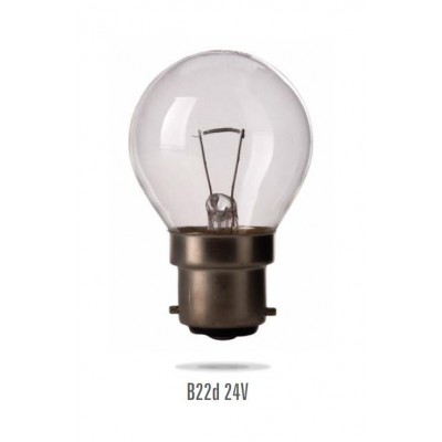 Signalizační žárovka B-22 60W/24V small bulb (zdroj není určen pro svícení v domácnosti)