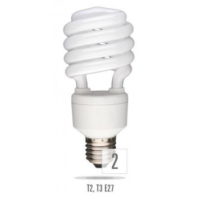 Úsporná žárovka poloviční spirála E27 5W 8000H