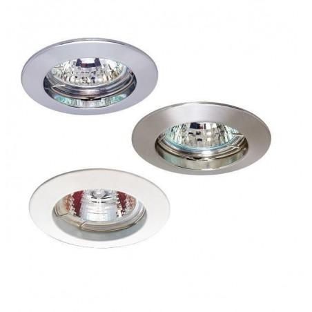 Bodovka - vestavné bodové svítidlo, GU10, bílá, Ø  77 mm