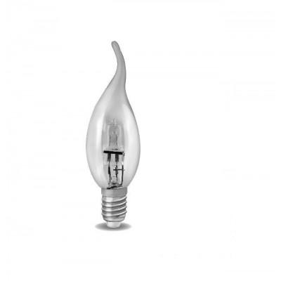 Halogenová úsporná žárovka candle flame  E14 28W jako 40W 220V