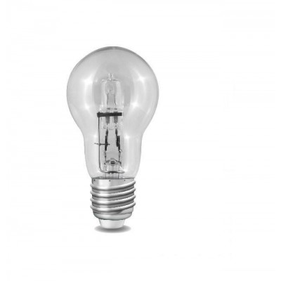 Halogenová úsporná žárovka BULB  E27 42W jako 60W 220V