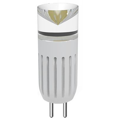 LED žárovka o výkonu 3 W, napájecím napětí 12V DC, barevné teplotě 6000°K
