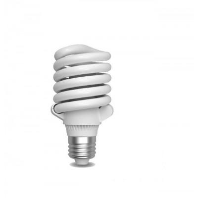 Úsporná žárovka Micro Spiral E27 30W 6400°K