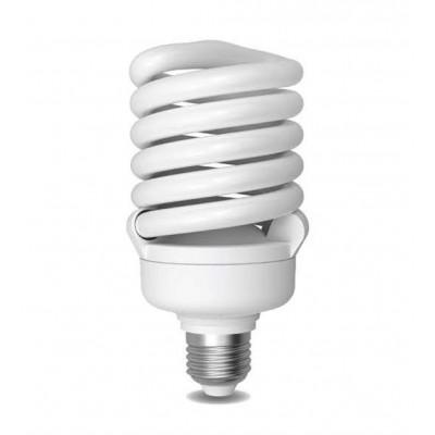 Úsporná žárovka Spiral E27 40W 6400°K