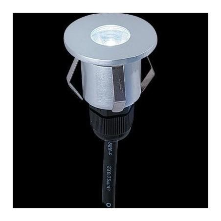 Venkovní nášlapné LED svítidlo, 1W, IP65, Ra80, max. 2.000 kg, úhel svítivosti 60°, 3000°K