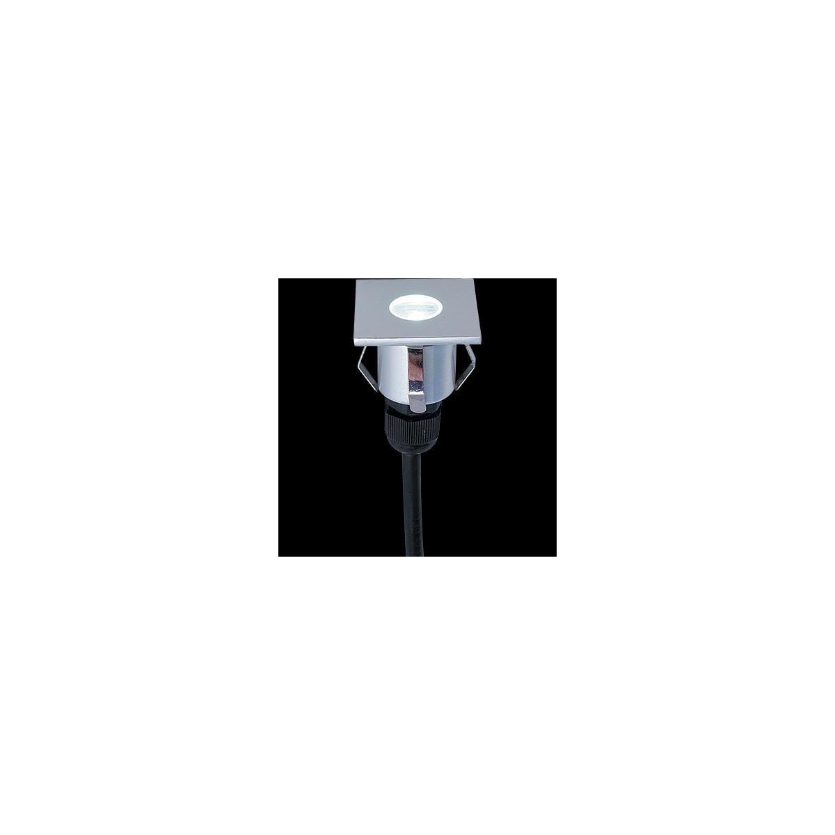 Venkovní nášlapné LED svítidlo, 1W, IP65, Ra80, max. 2.000 kg, úhel svítivosti 60°, 6000°K