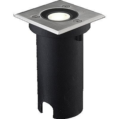Venkovní nášlapné LED svítidlo, 1W, IP67, Ra80, max. 500 kg, úhel svítivosti 60°, 6000°K