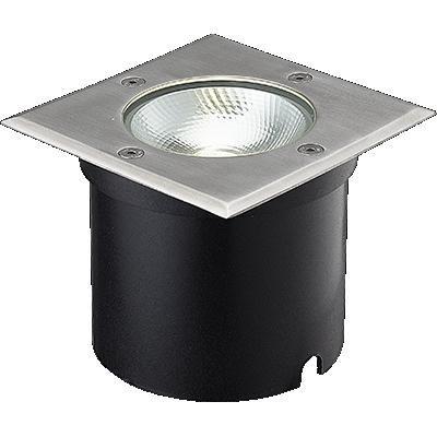 Venkovní nášlapné LED svítidlo, 7W, IP67, Ra81, max. 500 kg, úhel svítivosti 50°, 3000°K