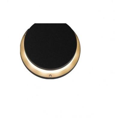 Venkovní svítidlo – nástěnné, IP54, pro zdroje s paticí E27 (max. 100 x 110 mm), černé. Provedení hliník.