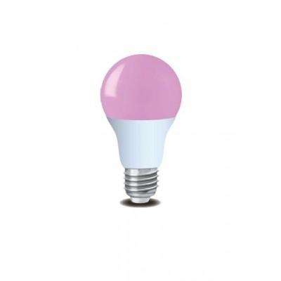 LED žárovka FIALOVÁ E27 220V 3W 48 LED 50.000 h