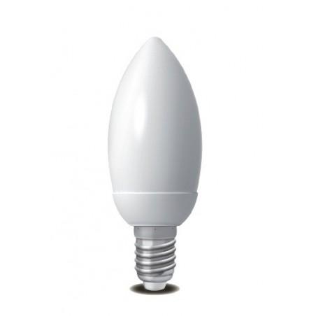 Úsporná žárovka Micro Candle E14 15W 2700K