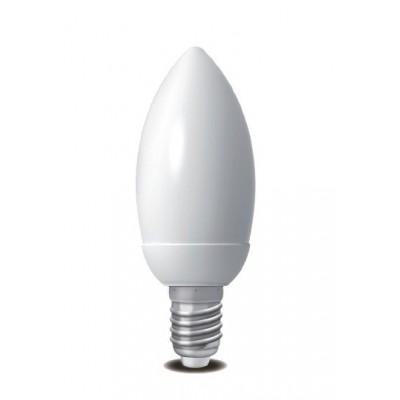 Úsporná žárovka Micro Candle E14 15W 6400K