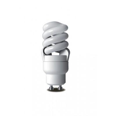 Úsporná žárovka Micro Spiral GU10 220V 12W 6400K
