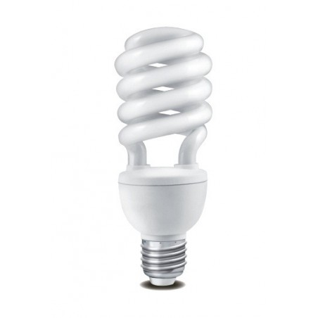 Úsporná žárovka HALF SPIRAL E27 2700K 24W