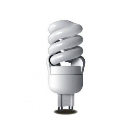 Úsporná žárovka Micro Spiral G9 220V 12W 2700K
