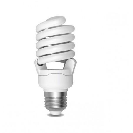 Úsporná žárovka Spiral E27 24W 6400°K