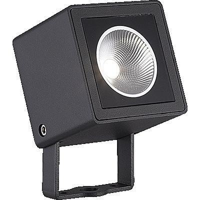 Zahradní LED svítidlo k zabodnutí 7W, IP65, Ra82, úhel svítivosti 150°, 6000°K
