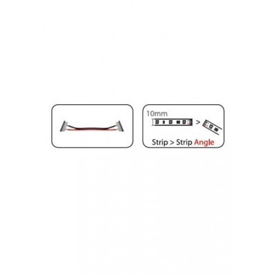 Spojka LED pásek 10mm obebná pro řadu LL-50...
