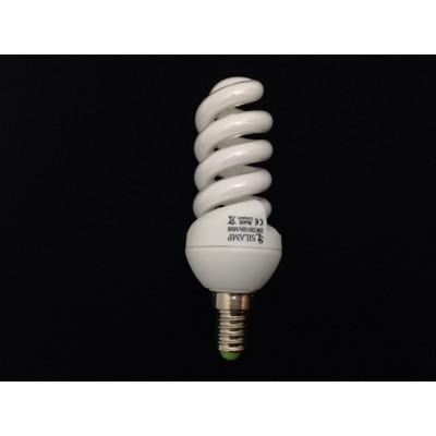 Úsporná žárovka spirála E14 20W 6400°K