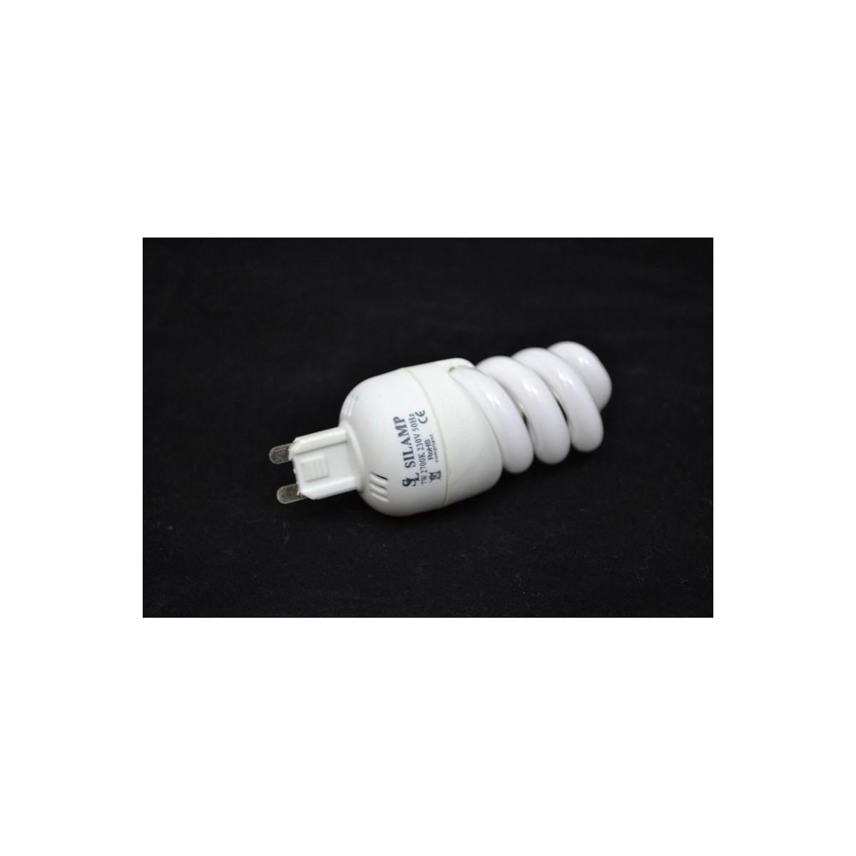 Úsporná žárovka Micro Spiral G9 230V 15W 2700°K