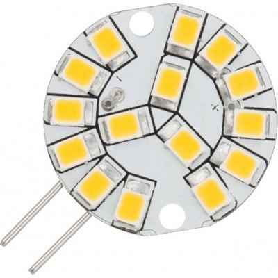LED G4 Flat Ø24x10mm 12V 160Lm 1.8W 2700K 827 180° AC/DC není stmívatelná